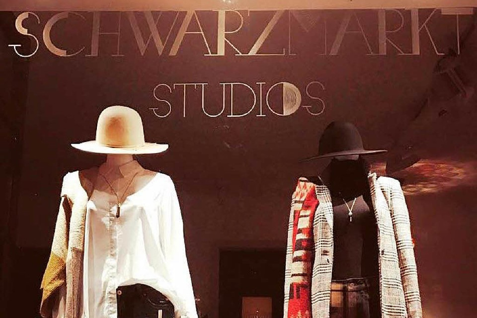 Der Pop-up-Store Schwarzmarktstudios. (Foto: privat)