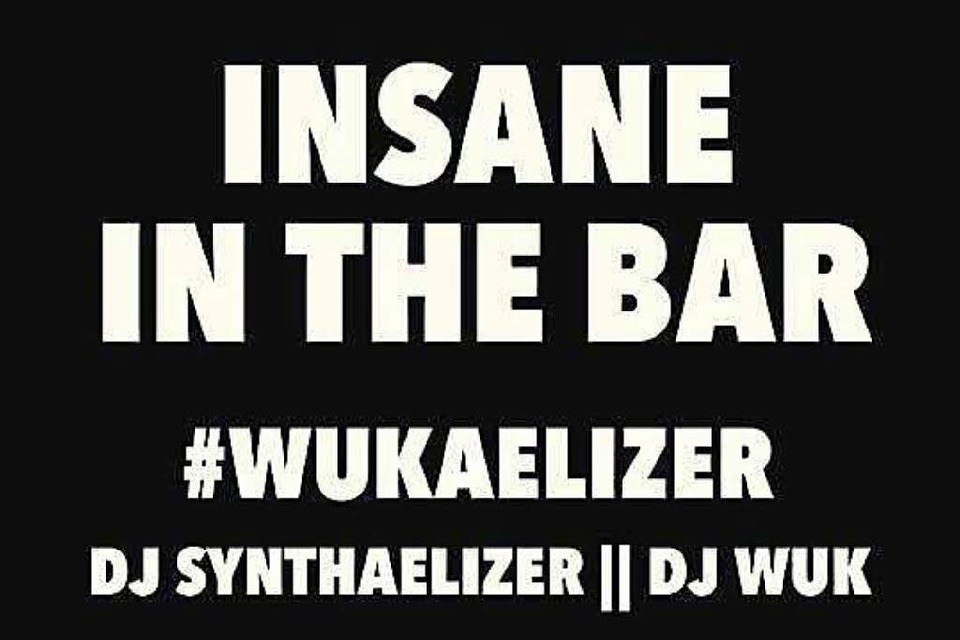 Insane in the Bar: DJ Synthaelizer und DJ Wuk legen am Samstag HipHop in der Bar am Funkeneck auf. (Foto: Promo)