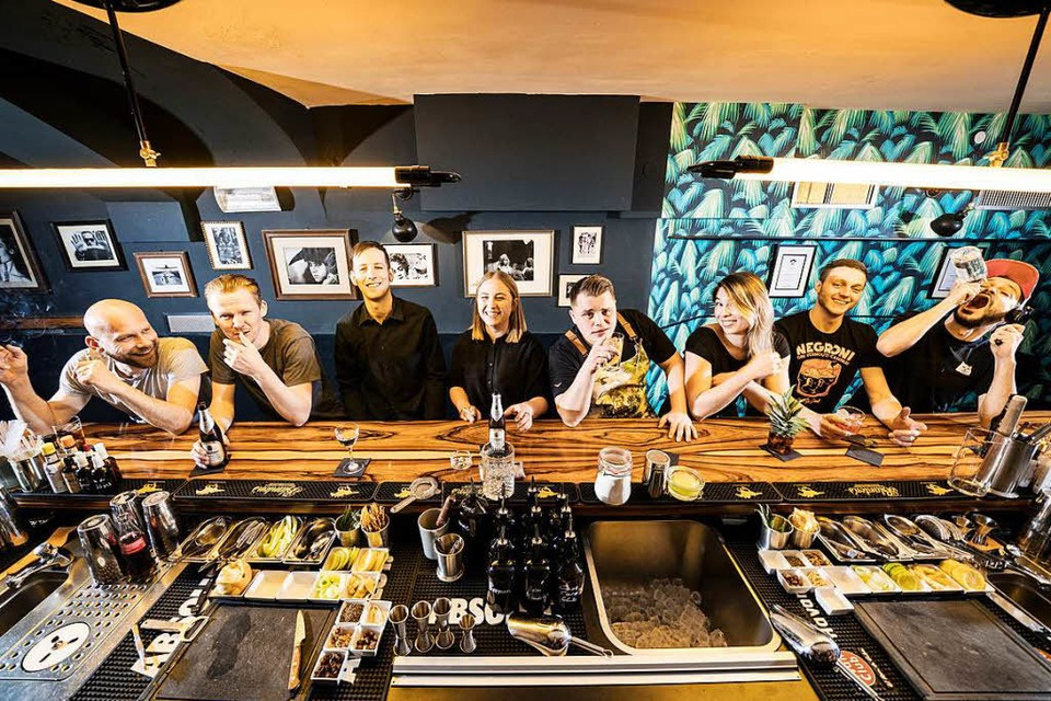 Steht in vier Kategorien auf der Long List der Mixology Awards 2019: Das Team der One-Trick-Pony-Bar. (Foto: Baschi Bender)