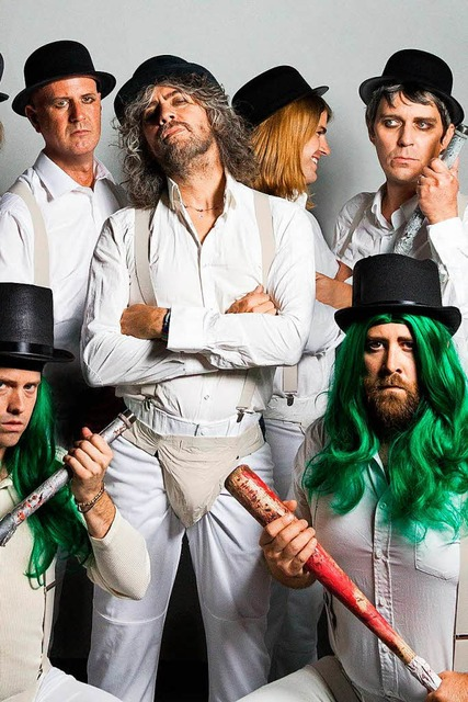 The Flaming Lips treten auch bei Rolling Stone Park auf (Foto: Europa-Park)