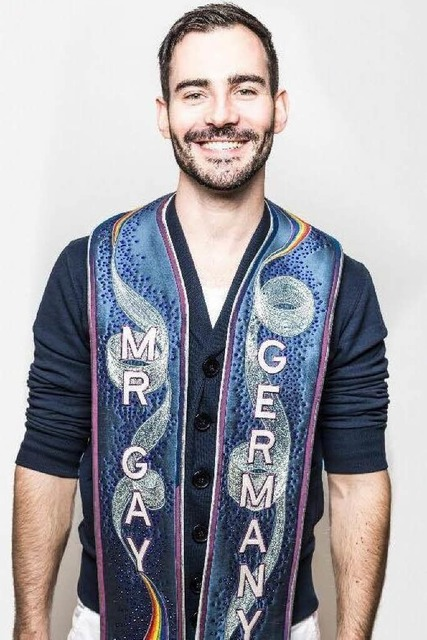 Enrique Doleschy, amtierender Mr. Gay Germany.... (Foto: Mirko Plengemeyer)