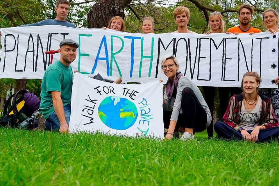 Die Freiburger Initiative Planet Earth Movement (Foto: Planet Earth Movement)