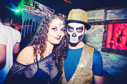 Fotos: Halloweenparty im Puzzles in Freiburg