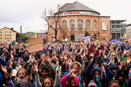 Fotos: Fridays for Future demonstriert zum sechsten Mal in Freiburg