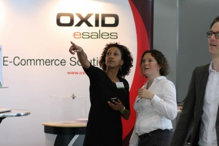 Das Messe-Highlight am Donnerstag: die E-Commerce Konferenzmesse OXID Commons