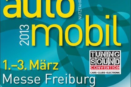Bald in Freiburg: Automobil 2013 mit Tuning & Sound Convention