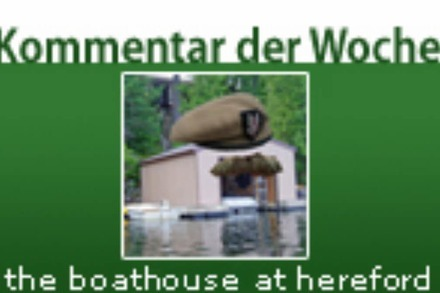 Kommentar der Woche: the boathouse at hereford