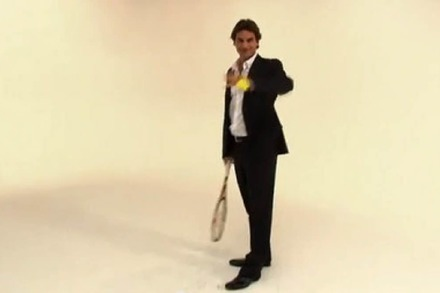 Video: Roger Federer spielt Wilhelm Tell