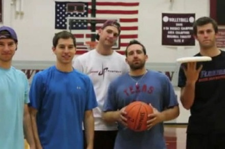 Video: Frisbee vs. Basketball
