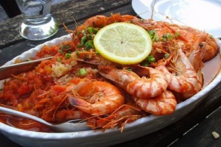 All you can eat-Test: Gambas im Restaurant St. Valentin
