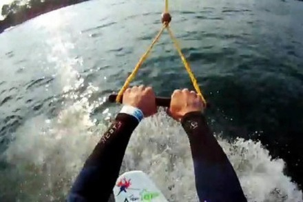 Video: Wakeboarding am Tunisee