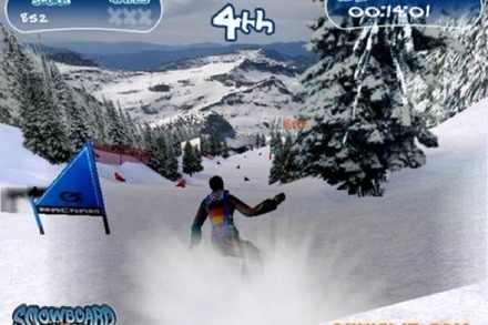 Online-Game: Snowboard Madness