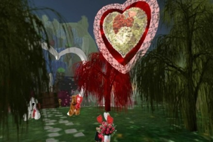 Valentin virtuell: Romantik in Second Life