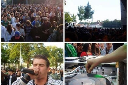 Jungle Street Groove Basel: Parade mit Unterführungs-Party