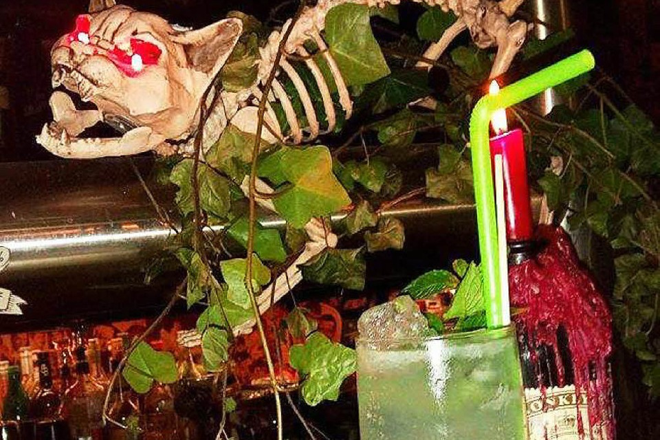 Halloween in der Bar Erika (Foto: Katharina Möckel)