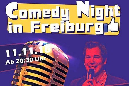 Verlosung: Lachmuskel-Training bei der Comedy Night in der Mensabar