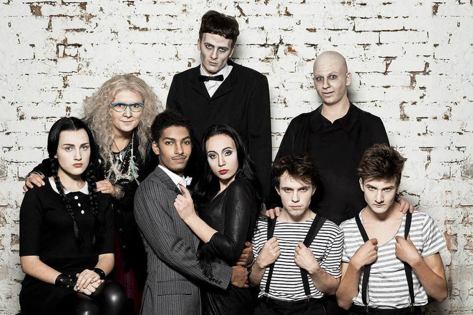 Die Addams Family (Foto: Theater Freiburg)