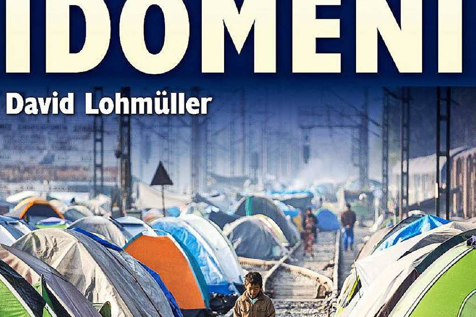 David Lohmüller in Idomeni (Foto: David Lohmueller)