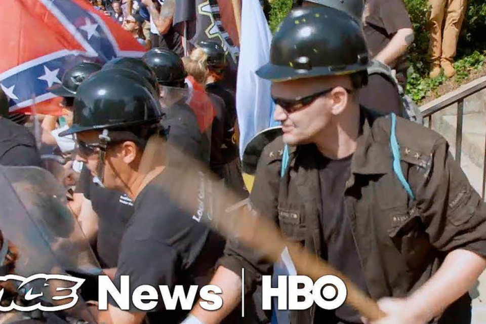 "Ausschnitt aus ""Charlottesville : Race and Terror"" (Foto: Youtube)"