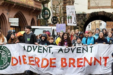 Wie war's bei… der Fridays-for-Future-Demo in Freiburg?