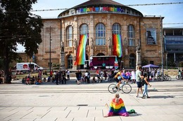 Fotos: So bunt war der Christopher Street Day in Freiburg